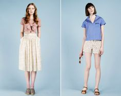 From the nadinoo lookbook - I want every single one of these clothes! :<
