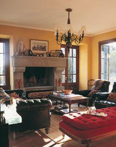 Concrete fireplace on pinterest modern fireplaces - Chimeneas gonzalez ...