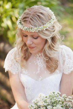 Daisy chain, gorgeous blonde hair too, love.:)