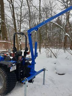 Tractor Attachments, Compact Tractors, Crane, Minis, Monster Trucks, Landscape, Vehicles, Tractor, Tools