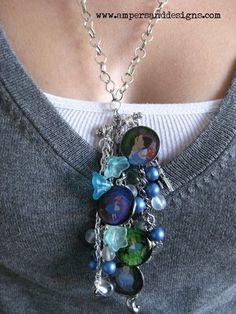 Cinderella beaded necklace