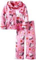 Girls Hello Kitty Coat Pajama Set « Clothing Impulse - I'm sure I have 2 little girls who would love these ones ! Hello Kitty Bed, Cat Party, Girls Pajamas, My Baby Girl, Outfit Sets, Pajama Set, Cute Kids, To My Daughter, Kids Fashion