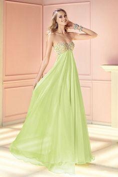 2015 robe de bal perlée en cristal corsage empire taille avec dos ouvert Pick Up Shrried Jupe