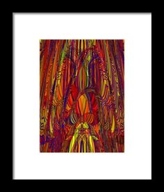 In His Presence Framed Print By Elva Robinson