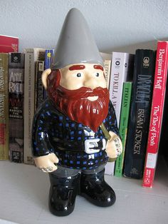 Hipster Gnome by RubyMarilyn, via Flickr
