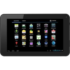 """Tablet com Android 4.0 4GB Wi-Fi Tela 7"""" Preto « Balcão Classificados Balcão Classificados"""
