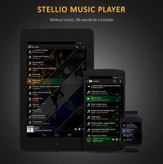 Download Stellio Music Player Best Apps, Tube, Music, Musica, Musik, Muziek, Music Activities, Songs