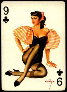 Alberto Vargas - Pin-up Playing Cards (1950)