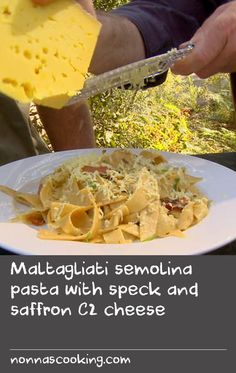 This wholesome homemade pasta has a nutty flavour just perfect to pair with the flavours of the speck and cheese. There's no need for a pasta machine with this simple recipe – you just chop the dough roughly into shapes. Cheese Recipes, Pasta Recipes, Pasta Machine, Homemade Pasta, Easy Meals, Shapes, Simple, Ethnic Recipes, Food