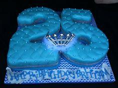 Th Birthday Cake Party Ideas Pinterest Th Birthday Cakes - Blue cake birthday