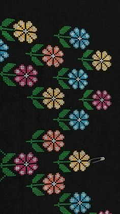 This post was discovered by Necibe Duru. Discover (and save!) your own Posts on Unirazi. Cross Stitch Bookmarks, Cross Stitch Art, Cross Stitch Borders, Cross Stitch Flowers, Cross Stitch Designs, Cross Stitching, Cross Stitch Patterns, Hand Embroidery Stitches, Ribbon Embroidery