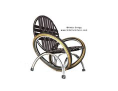Bike Chair from wheels, tyres+tubes