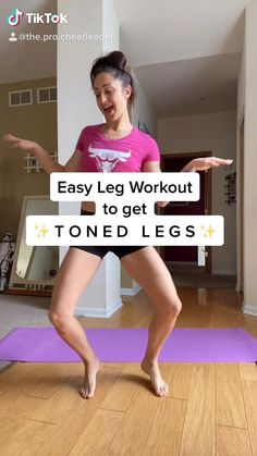Fitness Workouts, Cheer Workouts, Gym Workout Videos, Gym Workout For Beginners, Fitness Workout For Women, At Home Workouts, Fitness Motivation, Dancer Workout, Gymnastics Workout