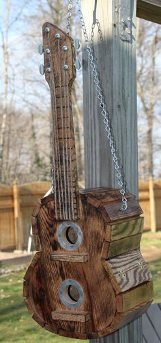 Guitar Birdhouse that I have made