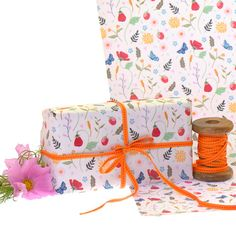 Gift Wrap 2 pack Gift Wrapping Paper Wild by ArtworkByAngie