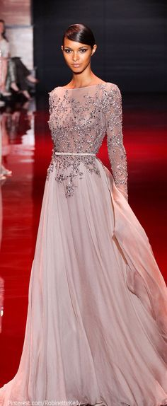 Elie Saab Haute Couture | F/W 2013 Graduation dress