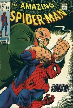 The Kingpin, powerful villain, enemy of Daredevil, Spiderman, & the people.