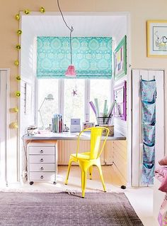 craft room inspiration - colorful