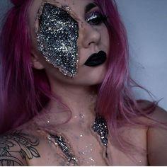 glitter zombie