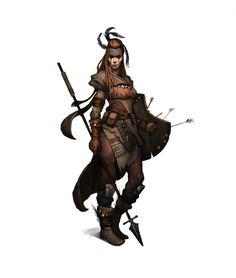 ArtStation - Tri Nguyen's submission on Ancient Civilizations: Lost & Found - Game Character Art (real-time)
