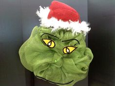 Deco Mesh Grinch by Eve Poonphol, A.C. Moore, Clicton, NJ