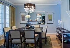 Light Contemporary Dining Room by Komal Sheth on HomePortfolio