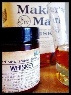 Portland General Store's whiskey shave jelly: I bought some of this for my husband and now he's addicted to it!