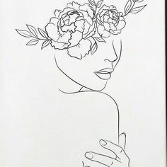 "Line drawing print. Nude print-Line art woman. Minimalist wall art ""Woman line print"". Black images Line drawing print. Nude print-Line art woman. Minimalist wall art ""Woman line print"". Black and Illustration Art Drawing, Art Drawings Sketches, Line Drawing Art, Line Drawings, Flower Design Drawing, Wall Drawing, Plant Drawing, Drawing Faces, Tattoo Sketch Art"