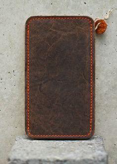 HTC One Leather Sleeve / Case  MR CARRAWAY Organic von filzstueck, $69.00 | HTCOne