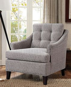 Colleen Fabric Accent Chair, Direct Ship   Furniture   Macyu0027s · Alabama RoomDesigner  LivingReading ...