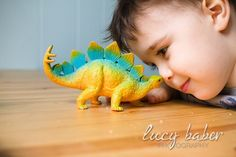 Little boy and his dinosaur... so cute!