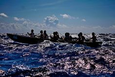 300 oarsmen sailed in 30 canoes to Cozumel to honor their fertility goddess: Ixchel