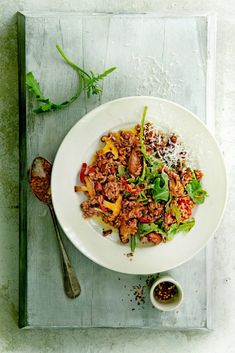 Panchetta Recipes, Gourmet Recipes, Healthy Recipes, Pasta, Couscous, Easy Cooking, Ratatouille, Food Print, Risotto