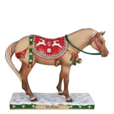 Enesco Trail of Painted Ponies Mr. Winter Figurine, 6-Inch from Enesco Gift