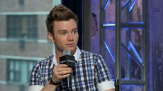 """""""I so desperately wanted to jump into the book & join them"""" - @ChrisColfer on how he got into writing. Chris Colfer at @AOLBUILD, 7/6/15"""