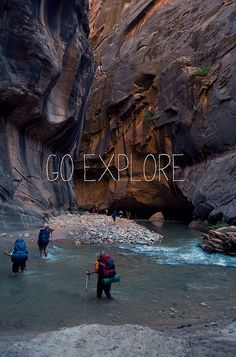zion national park, utah. My husband made me hike the narrows without the proper equipment! We had a ball!