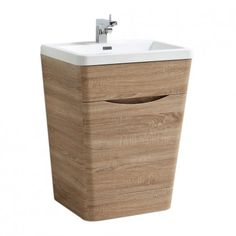 Great Value and Excellent Value Easy Bathrooms Victra Vanity Unit Light Oak & Basin - Sale Now On Light Oak Furniture, Bathroom Vanity Units, Simple Bathroom, Bathroom Ideas, Basin, The Unit, Bathrooms, Bedroom, Beautiful