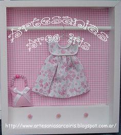 Cuadro infantil, Souvenir Little Valentina ♥