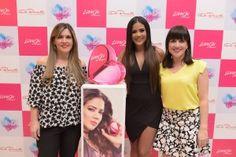 ¡Michela Pincay realizó el lanzamiento de LOVE ON en De Prati!