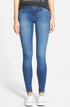 I love these jeans! CELEBRITY PINK Skinny Jeans (Another Day) available at #Nordstrom