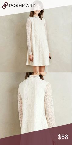 Anthropologie swing dress large By HD in Paris, worn once for wedding Anthropologie Dresses
