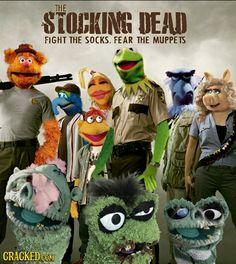 Walking Dead Parody   Muppets & Sesame Street