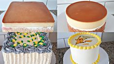 Cake Fillings, Cake Flavors, Tres Leches Cake, Fiesta Party, Mini Cakes, Baby Shower Cakes, Vanilla Cake, Frosting, Eeyore Quotes