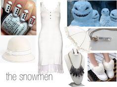 """The snowmen"" by anjilisladen on Polyvore"