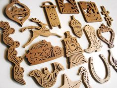 29 Scroll Saw Christmas Holiday American Diversity Ornament Patterns - PDF Email…