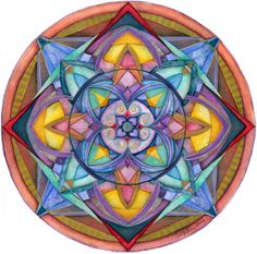 """The Harmony Mandala """"The first idea, the last word, and everything in between..."""""""