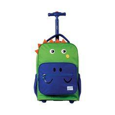 53b5f27ea3b Children s Twise Sidekick Rolling Backpack - Dino Back to School Kids Rolling  Backpack