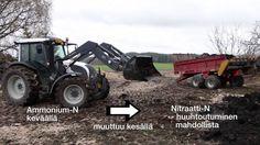 Orgaanisten lannoitevalmisteiden levityslaitteet, patterointi ja käytön ...
