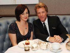 Jon Bon Jovi, afternoon tea in Mayfair.