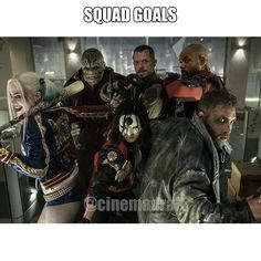 We all need a little help from our friends. #SuicideSquad  #squadgoals  #PlayTheStars  #BEYourOwnStar  #comingsoon  #dfs  #dailyfantasy  #dailyfantasyMOVIES  #dfm  #movies  #actors  #Hollywood  #games  #gaming  #marketing  #freeroll  #meme